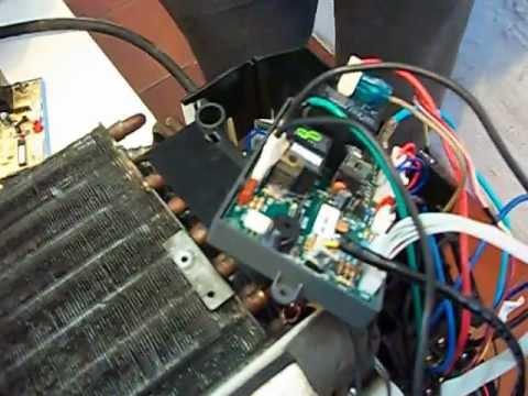 aircon mini split wiring diagram aire acondicionado como cambiar placa o tarjeta como  aire acondicionado como cambiar placa o tarjeta como