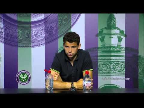 Grigor Dimitrov: 'I can attack the top' - Wimbledon 2014
