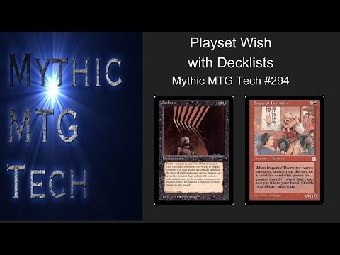 Play Set Wish - Mythic TG Tech #294