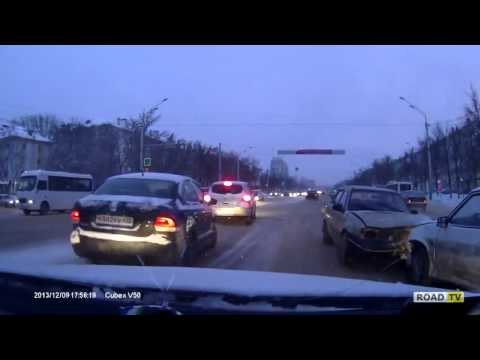 Уфа ДТП на зимней дороге