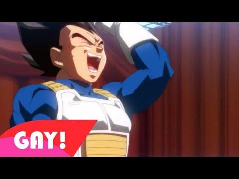 GOKU Y VEGETA PLUMA GAY!! 😂😳 #4 - GOKU X VEGETA - YAOI - Super M