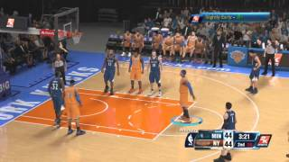 NBA 2K14 PS4 Carmelo Anthony Full Highlights Vs