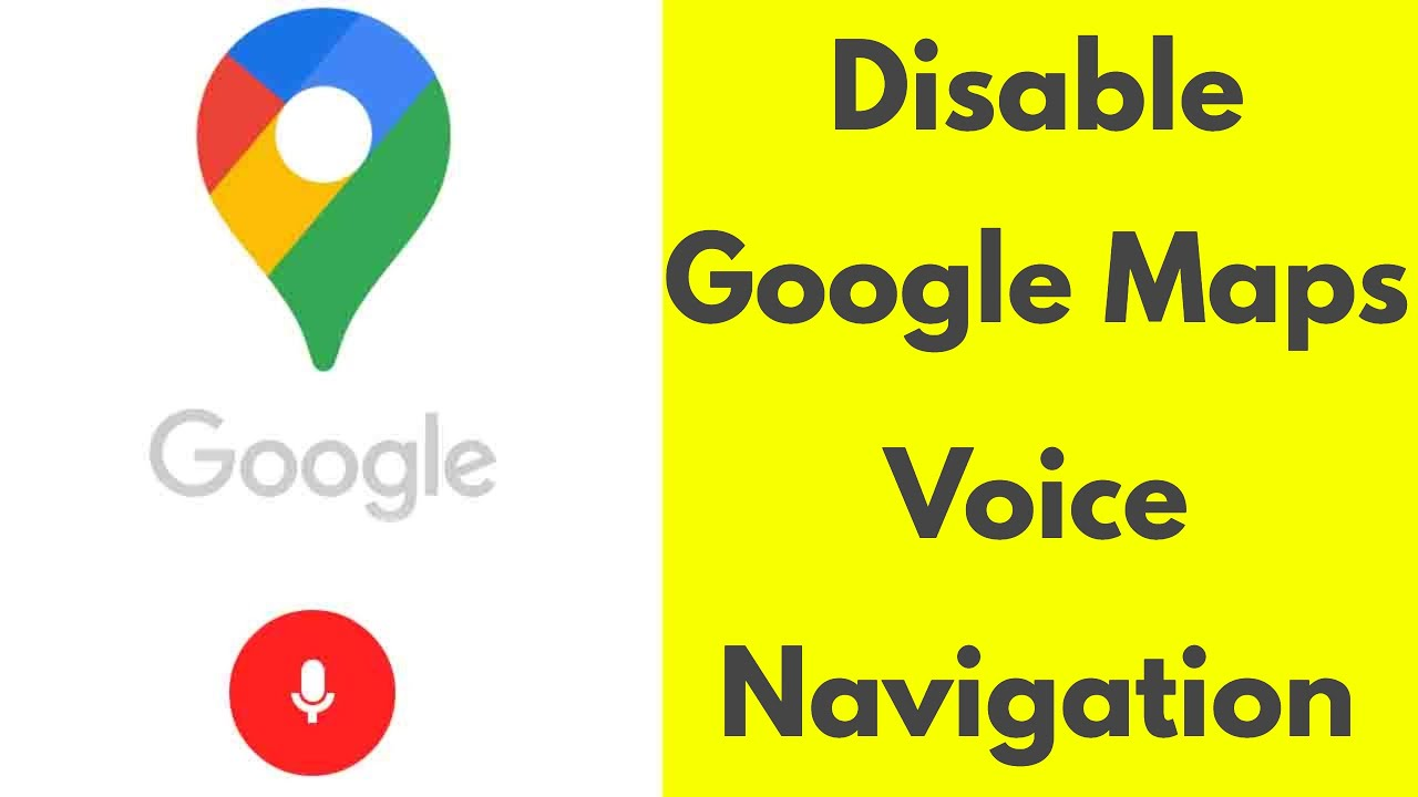 How To Turn On/Disable Voice Navigation On Google Maps & Also Change Change Google Maps Voice on