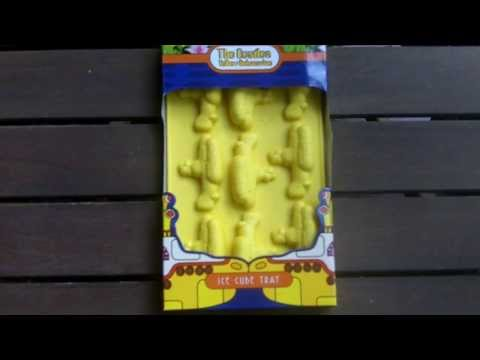 The Beatles Yellow Submarine Ice Cube Tray