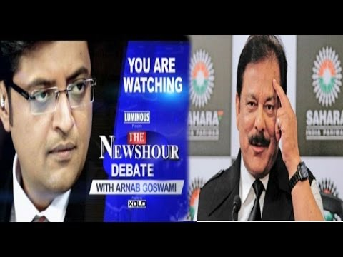 The Newshour Debate: The Sahara Chief Subrata Roy debate - Full Debate (28th Feb 2014)