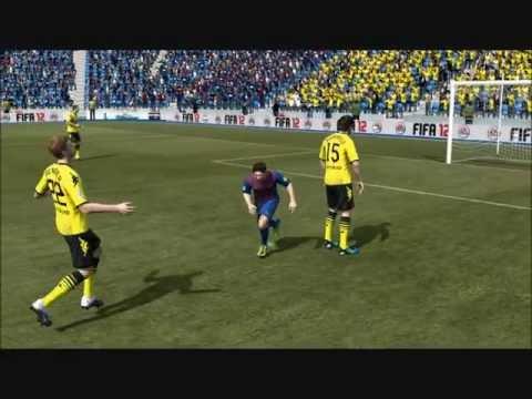 Веселые баги нового движка Fifa 12