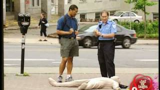Weird White Body Thing Prank