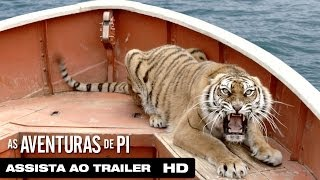 As Aventuras De Pi Trailer Legendado HD