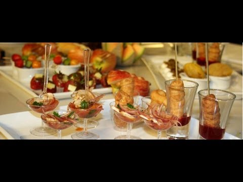 Pasabocas y aperitivos BROCHETA PAISA, ROLL DE AREPA Y POLLO, PATACÓN COSTEÑO, PAPA CRIOLLA RELLENA