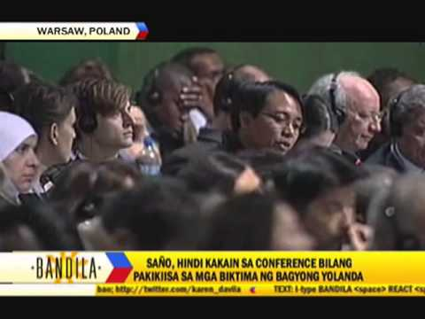 PH envoy sheds tears at UN climate conference