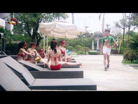 Bà Tưng Kiếm Hiệp mặc bikini nhảy Gentleman