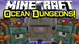 Minecraft 1.8 NEW OCEAN MOB, DUNGEON TEMPLE, & More