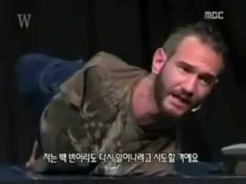 God knows no obstacles. Never give up. Nick Vujicic's testimony (LifeWithoutLimbs.org)