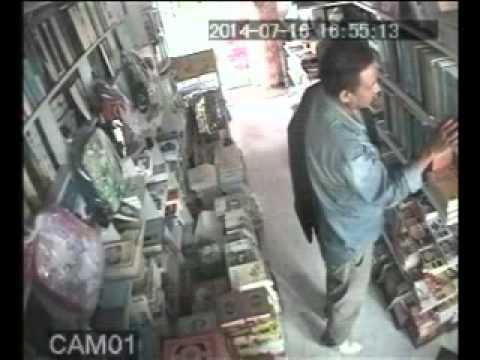 خطير:سرقة بالعلالي بأحدى المكتبات بأولاد تايمة