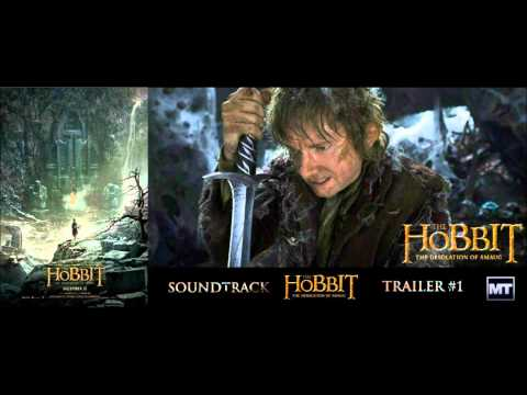 The Hobbit: The Desolation of Smaug - Official Music Trailer #1 (2013) Audiomachine [HD]