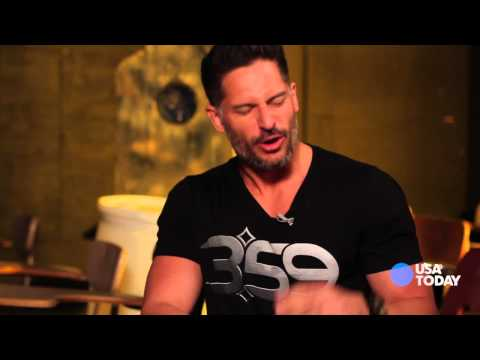 'Sabotage' Star Joe Manganiello gets real-world combat training