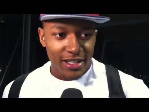 Bradley Beal of the Washington Wizards Interviewed at the NBA Summer League in Las Vegas