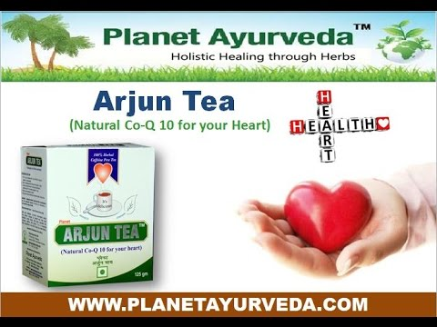 A herbal tea for healthy heart from bark of arjuna tree - Arjun tea