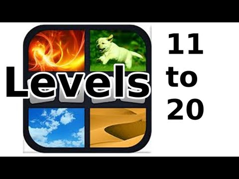 4 Pics 1 Word - Level 11 to 20 - Walkthrough
