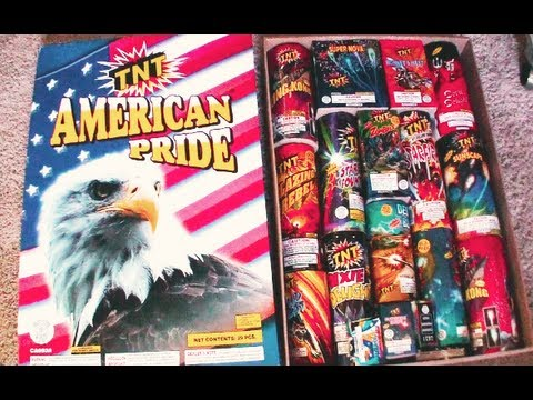 TNT Firework Assortment Pack - American Pride