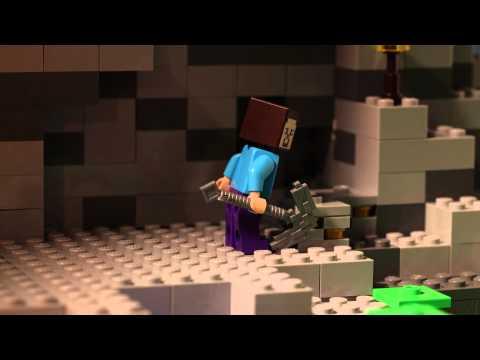 Lego Minecraft - Jaskyňa