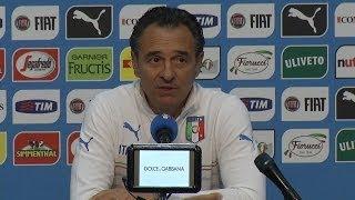 """Prandelli: """"Immobile titolare? Ho 23 titolari"""" - Mondiali 2014"""