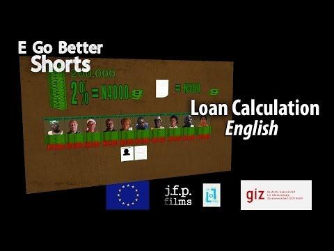 E Go Better SHORTS: Loan Calculation (English)
