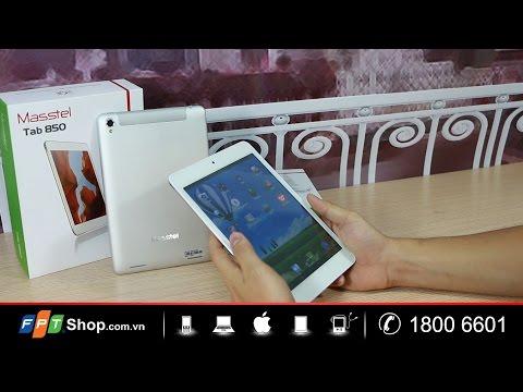 FPT Shop - Đập hộp - Masstel Tab 850