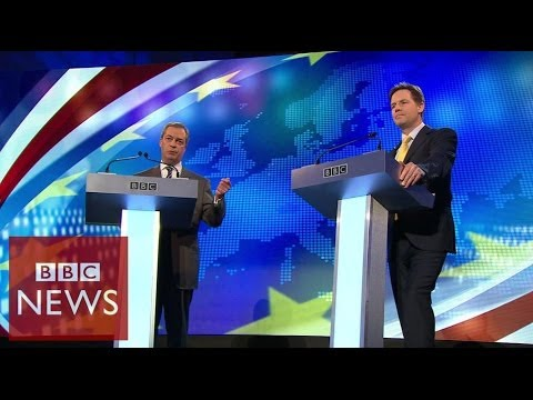Farage vs Clegg: Row over Russia's role in Crimea - BBC News