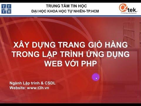 Bài 1: Cơ Sở Dữ Liệu MySQL_XÂY DỰNG TRANG GIỎ HÀNG - LẬP TRÌNH WEB VỚI PHP