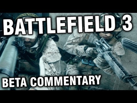 Battlefield 3 Beta - First Match Commentary