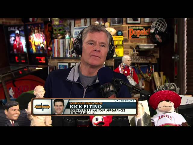 Rick Pitino on The Dan Patrick Show 3/04/14