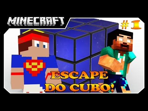 Minecraft - Fuja do Bloco #1 Ft Vilhena!