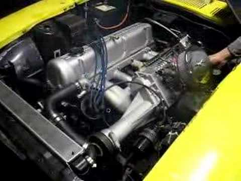 Supercharged nissan l28 280zx engines