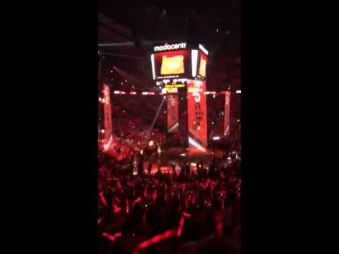 2014 NBA Playoffs - Western Semi-Finals Blazers vs Spurs GM 4.          (Starting Lineup Intro)