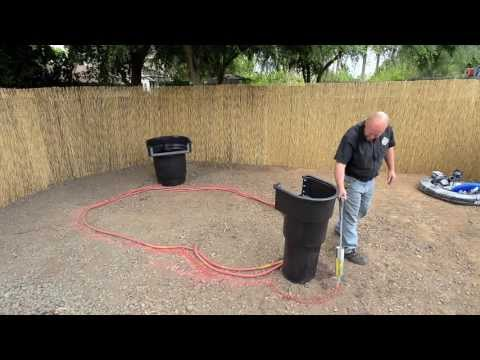 How to build a fish pond tutorial youtube for Building a koi pond step by step