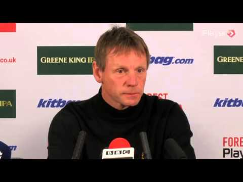 Stuart Pearce Nottingham Forest Press Conference