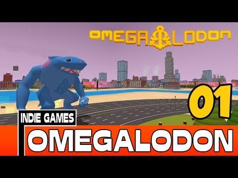OMEGALODON COOP - O TUBARÃO GIGANTE [ INDIE GAMES ] [NOVA SÉRIE] [1]