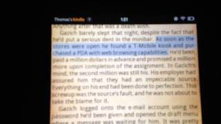 Kindle Fire Text-to-Speech