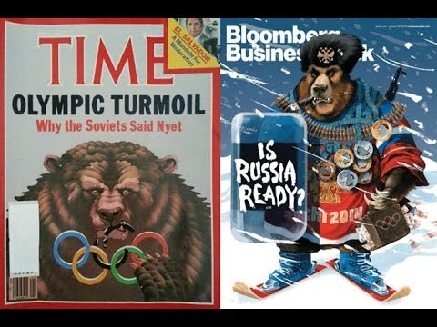 Anti-Sochi Behavior: 'Cold War' media bears roaring at Russia