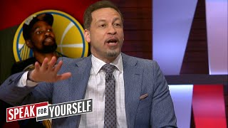 Chris Broussard reacts to Whitlock's take on LeBron not respecting Durant | NBA | SPEAK FOR YOURSELF