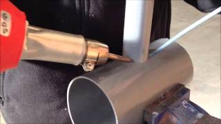 Trabajar el PVC con un soplete de aire caliente