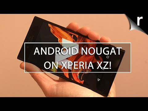Android Nougat on Sony Xperia XZ: Best new features and how to update