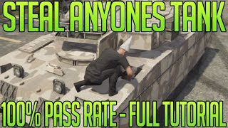 GTA 5 Online Tricks - How To Steal ANYONES Tank Everytime (100% Success Rate) (GTA V Multiplayer)