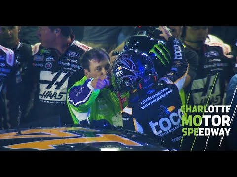 Bowyer and Newman go at it on pit road after All-Star Race