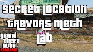 "GTA 5 Online Secret Location Trevors Meth Lab ""GTA Online"