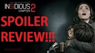 Insidious: Chapter 2 SPOILER Review