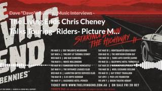 Davo chats to Chris Cheney -The Living End