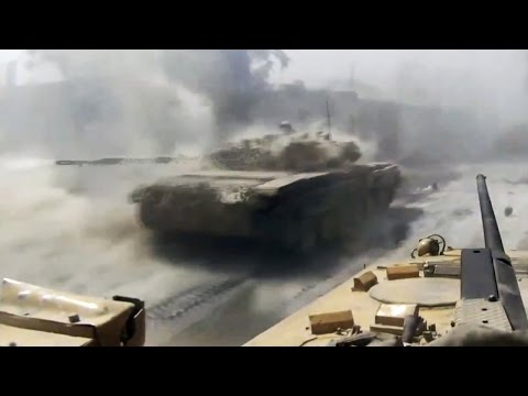 ᴴᴰ Syria ♦ Tanks with GoPro™ ♦ Dropping Troops in Jobar