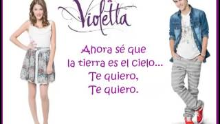 Te Creo Violetta Lyrics